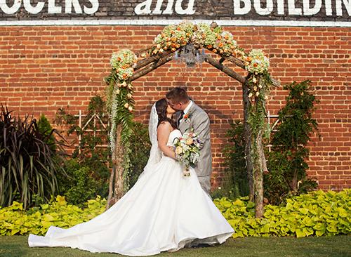 Davis Wedding at The Cotton Warehouse