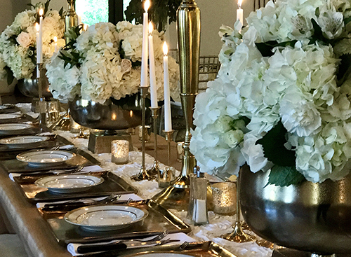 Sommerville Rehearsal Dinner - Catering by Elements Catering & Floral Design